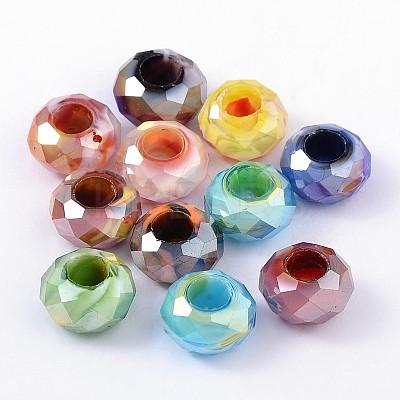 Glass European BeadsGDA010-M-1