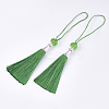 Polyester Tassel Big Pendant Decorations FIND-T055-09-2