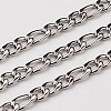 304 Stainless Steel Figaro ChainsCHS-L015-17-1