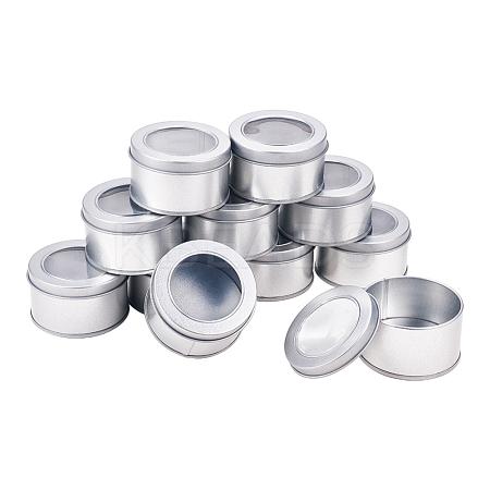 BENECREAT Round Iron Tin CansCON-BC0005-22-1