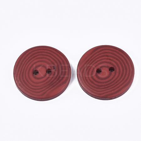 Resin ButtonsRESI-S377-05D-1-1