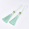 Polyester Tassel Big Pendant Decorations FIND-T055-12-2