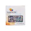 Large Hole Rondelle Acrylic European BeadsOPDL-PH0005-01M-3