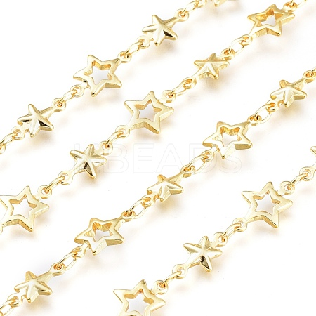 Brass Star Link ChainsCHC-K009-01G-1