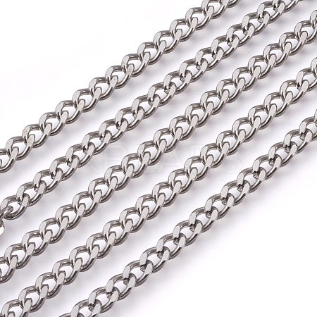 304 Stainless Steel Curb ChainsCHS-L017-22E-1