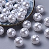 Imitated Pearl Acrylic BeadsPACR-14D-1-1-1