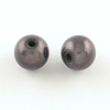 Spray Painted Miracle Acrylic Round Beads MACR-Q154-20mm-N05-2
