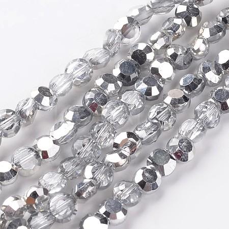 Electroplate Glass Bead StrandsEGLA-J137-6mm-A-HP01-1