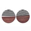Resin & Wood PendantsX-RESI-T023-24A-2