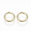 Brass Jump RingsKK-S348-246-2