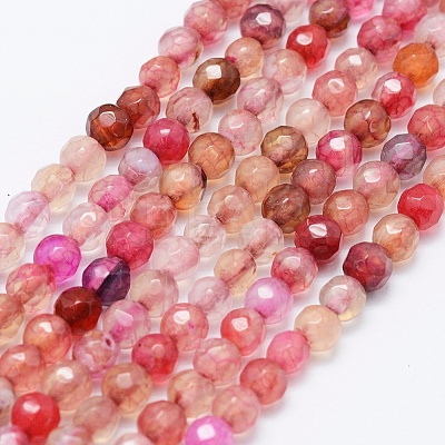 Natural Agate Beads Strands G-E469-12F-1