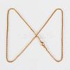 304 Stainless Steel Lantern Chain Necklace MakingsSTAS-P045-08-3