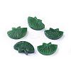 Carved Natural Myanmar Jade/Burmese Jade BeadsG-L495-33-1