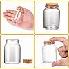 Glass Jar Glass Bottles Bead ContainersAJEW-S074-03B-4
