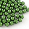 Spray Painted Miracle Acrylic Round Beads MACR-Q154-20mm-010-1